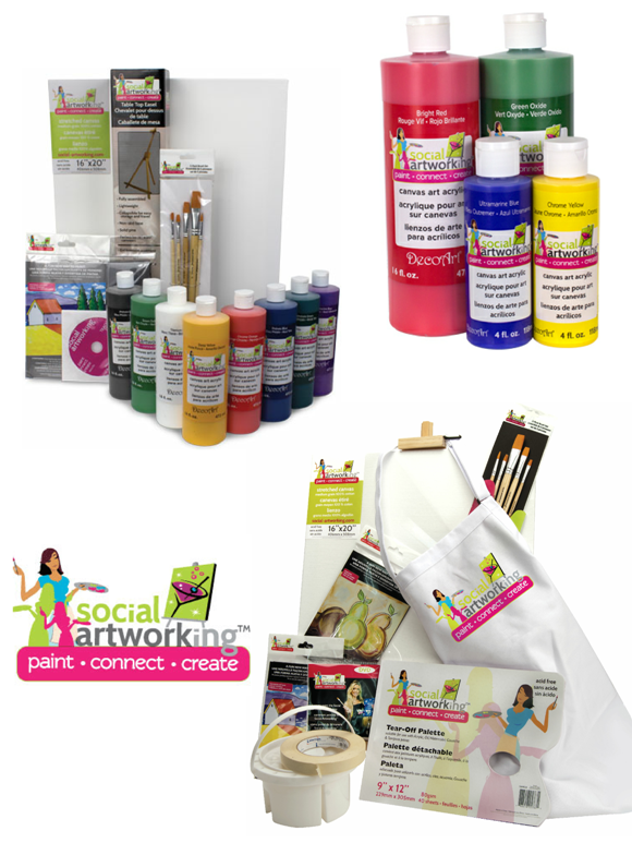 Giveaway | Art Party Supplies