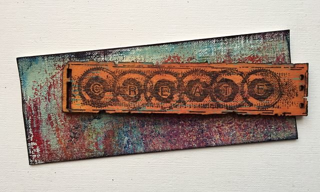 PaperArtsy Wood Chips by Seth Apter ESAWC1 Art Chips Wood Embellishments