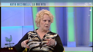 Katia Ricciarelli has appeared regularly on Italian TV since she ended her career in opera