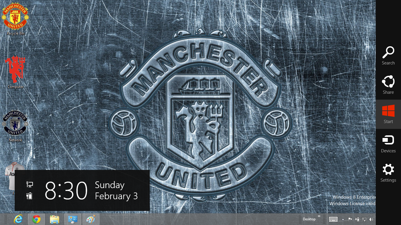 Download Tema Manchester United 2013 Untuk Windows 7 Ouo