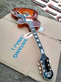 Gitar Hollow Body,Gitar Semi hollo,Custom Gitar,Pengrajin Gitar Berkualitas