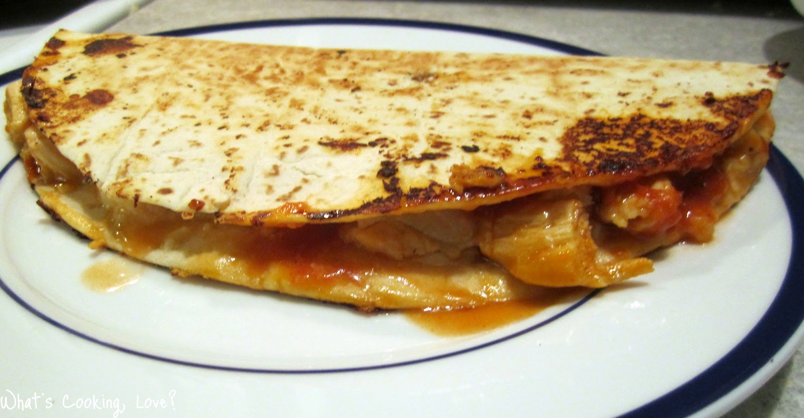 Chicken Parmesan Quesadilla Whats Cooking Love