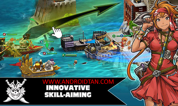 Free Download War Pirates Mod Apk v2.1.1.6 Android Terbaru 2017