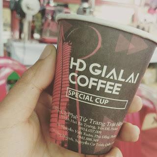 Thương hiệu cà phê HD Gia lai