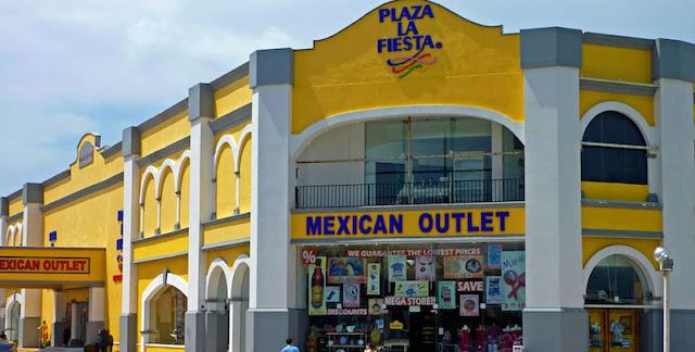 Visitando o Plaza La Fiesta em Cancún