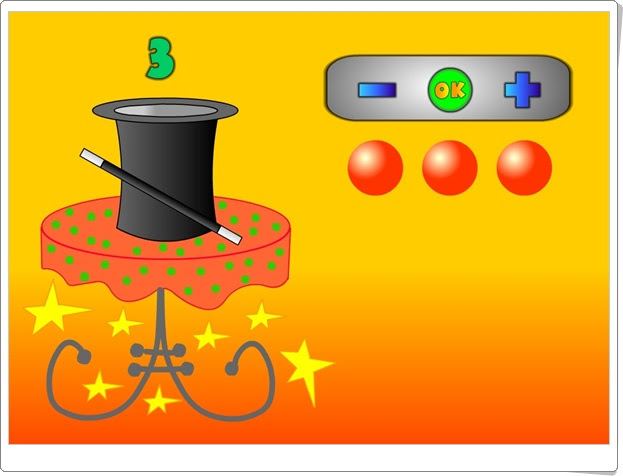 """""""El sombrero del Ilusionista"""" (Cantidades hasta el 9 en Educación Infantil)"""