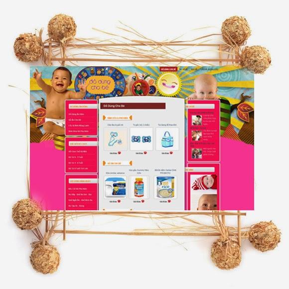 thiết kế web bán hàng đồ chơi đẹp