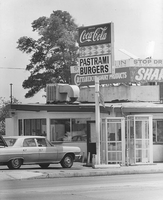 Grocery Stores Los Angeles: Fast Food Restaurants In Los Angeles, 1970s
