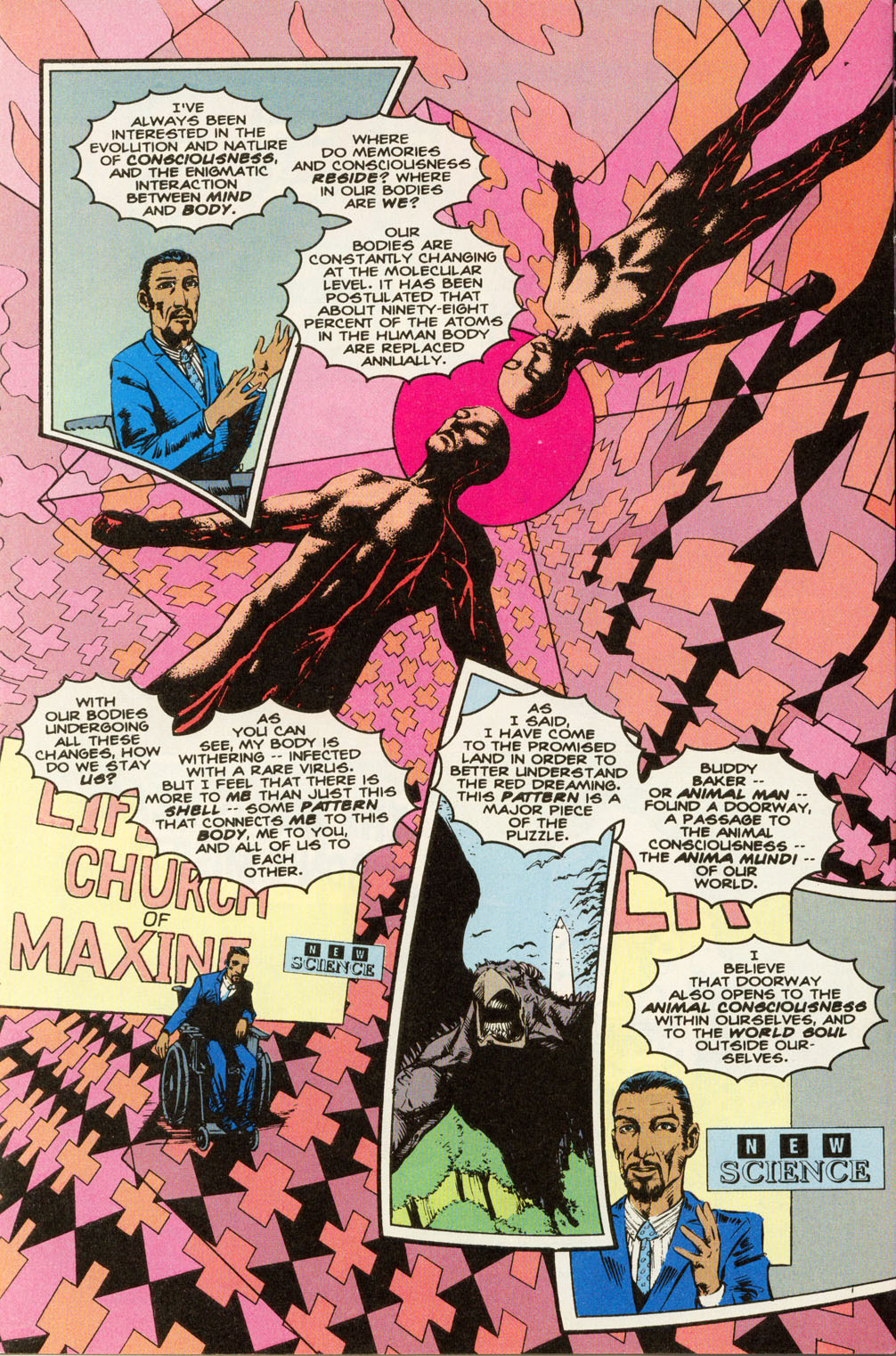 Read online Animal Man (1988) comic -  Issue #81 - 8