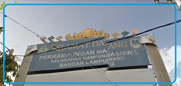 Info Kampung Baru Unila, Kecamatan, Kode Pos