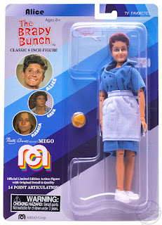 SDCC 2018 MEGO Target Exclusive Action Figures The Brady Bunch Alice 001