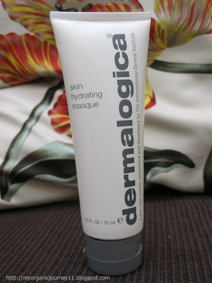 My Organic Journey Review Dermalogica Skin Hydrating Masque