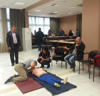 ΔΕΛΤΙΟ ΤΥΠΟΥ: Δήμος Κατερίνης: Με απινιδωτές και εκπαίδευση σώζονται ζωές!