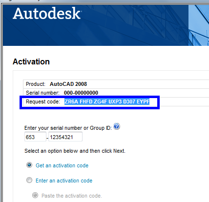 telecharger code dactivation autocad 2008