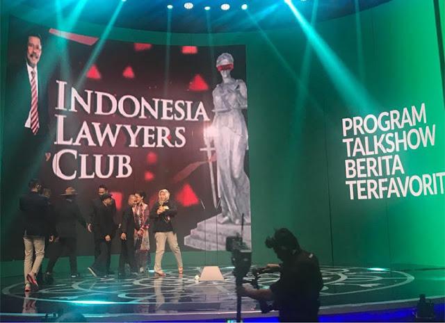 Kalahkan Empat Acara, Indonesia Lawyers Club Terfavorit di Program Talkshow Berita
