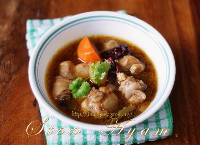 Resepi Stew Ayam, Cara Masak Stew Ayam, Resepi Ringkas masak ayam,