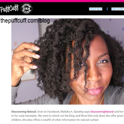 The Puff Cuff TOP 10 CURLY HAIR BLOGGERS and VLOGGERS AWARD goes to...