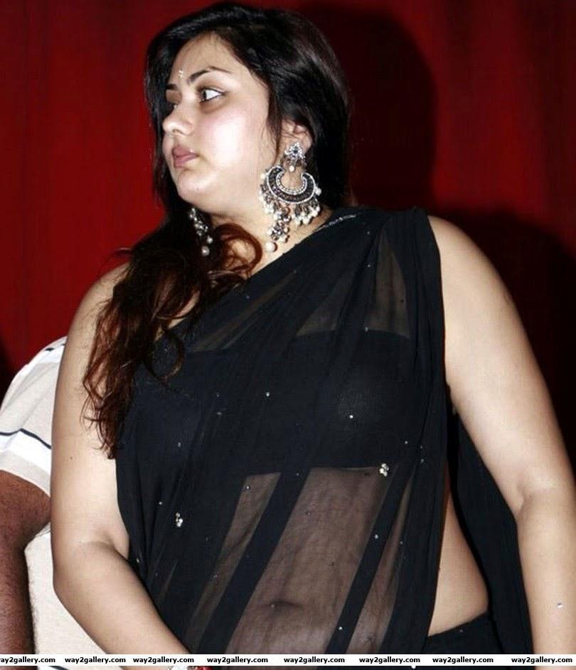 Namitha Hot Saree latest spicy photos