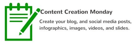 Content Creation Monday
