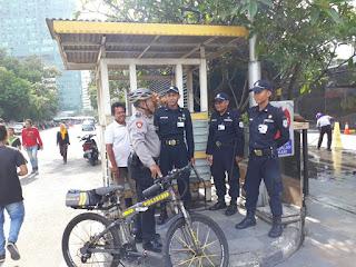 Patroli Sepeda Pancal, Polisi Ini Keliling  Di Wilayah Hukumnya
