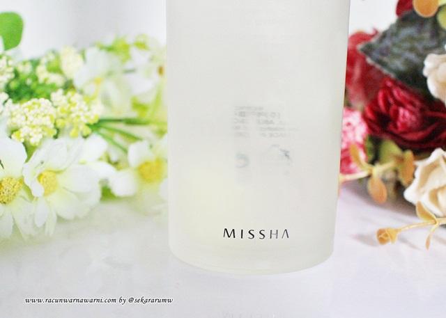 Tekstur dan Aroma Missha FTE