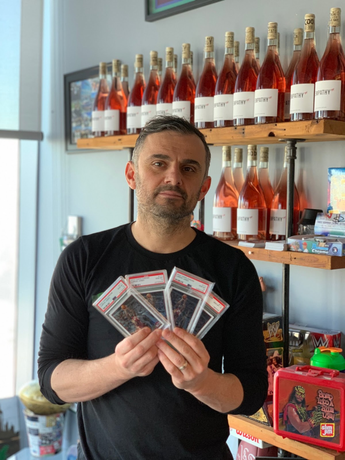 Image result for gary vaynerchuk sports cards