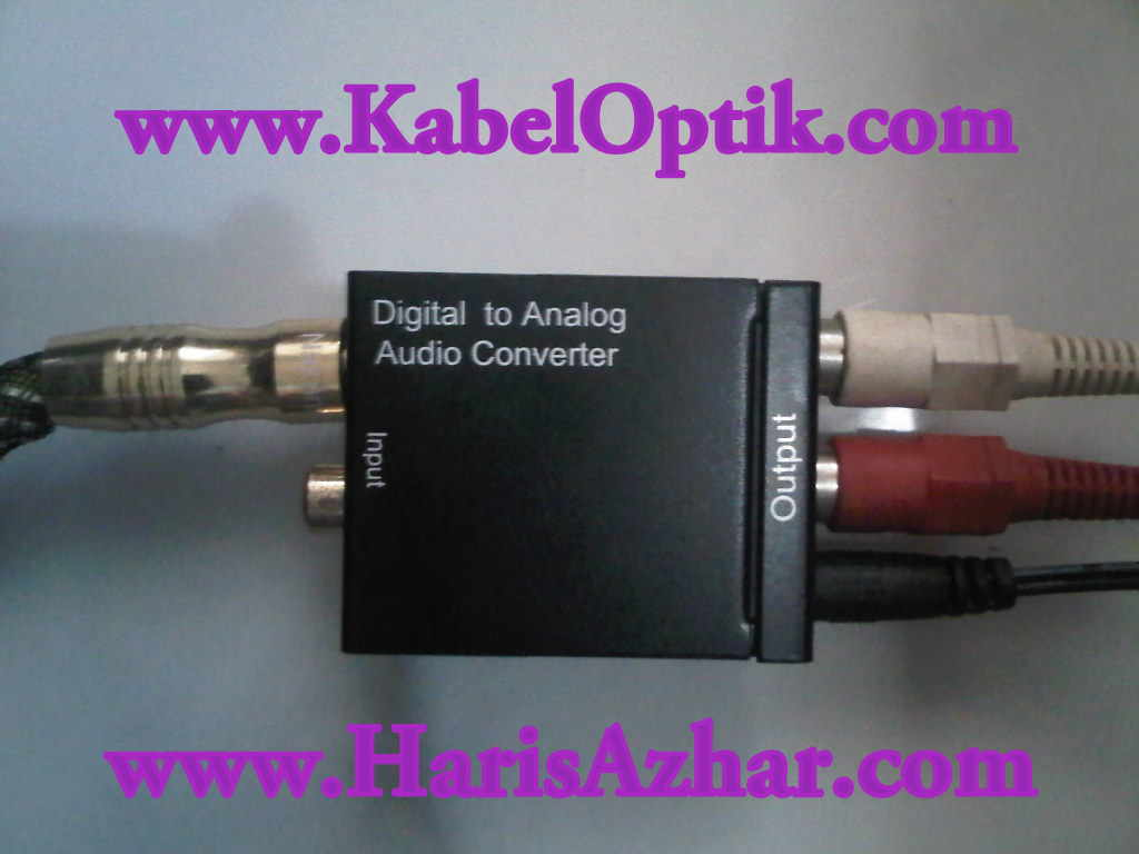 Kabel Optik Audio: Optical Audio Cable Converter