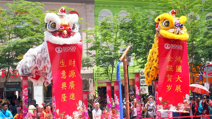 KL SOGO's Chinese New Year celebration    ~ www