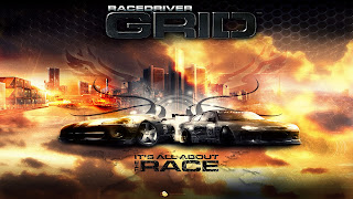 Race Driver: Grid Logo Wallpaper