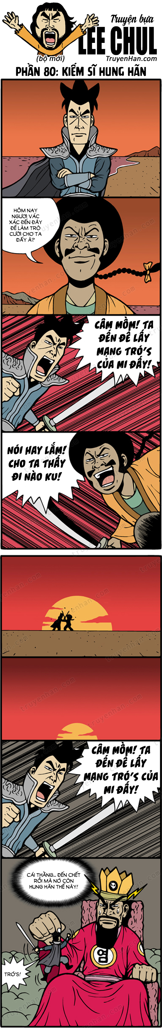 Lee Chul (bộ mới) phần 80: Kiếm sĩ hung hãn