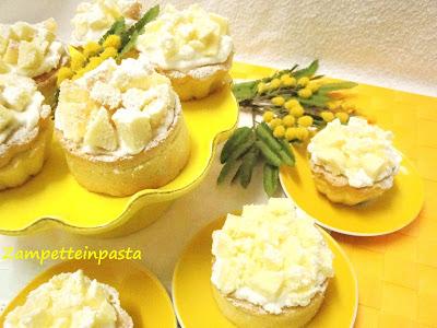 Mimosa Cupcake - Muffin Mimosa - Ricetta Festa della Donna
