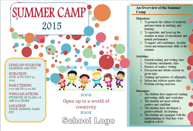 Stay At Home Summer Camp Ideas – Fondos de Pantalla