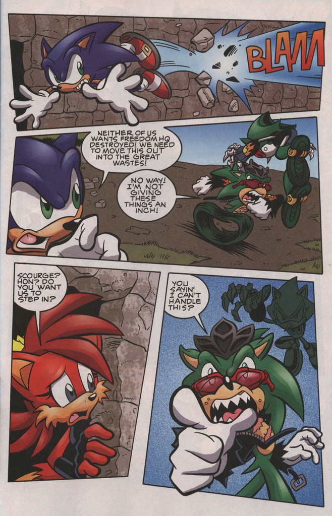 Read online Sonic The Hedgehog comic -  Issue #192 - 9