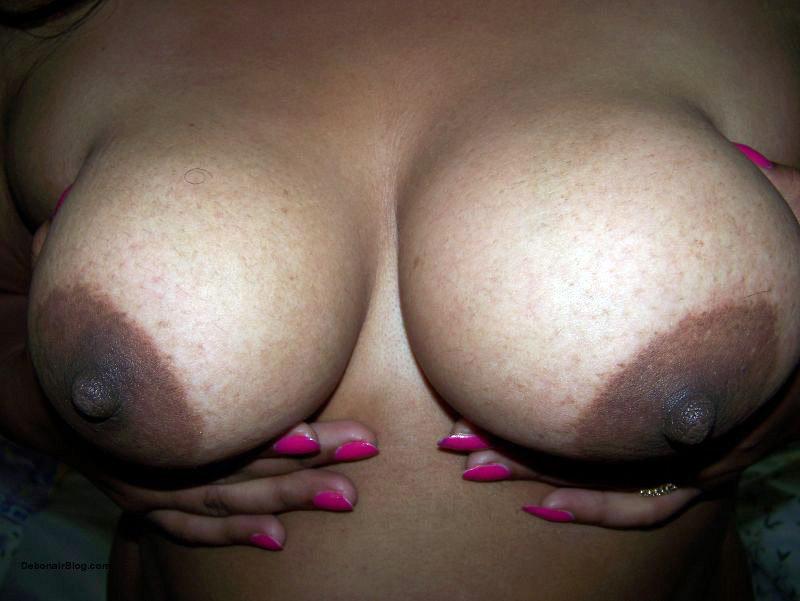 Black aunty big boobs