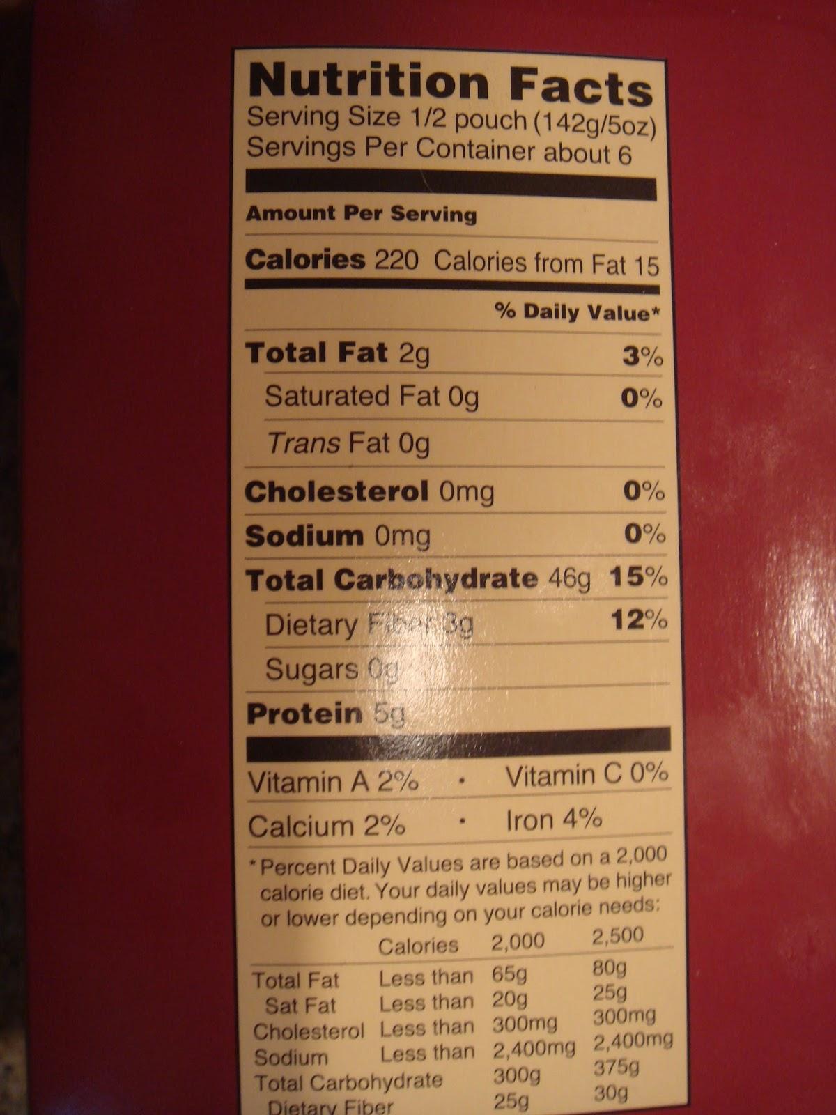 Trader Joe's Jasmine Rice Nutrition : trader, joe's, jasmine, nutrition, Jasmine, Nutrition, Label, Labels, Database