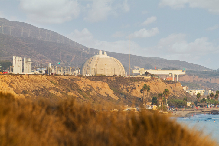 Nuclear Power Plant Shutdown San Onofre