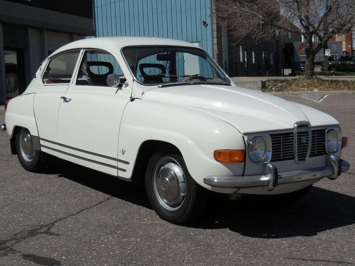 Call me Ishmael: 1969 Saab 96 V4