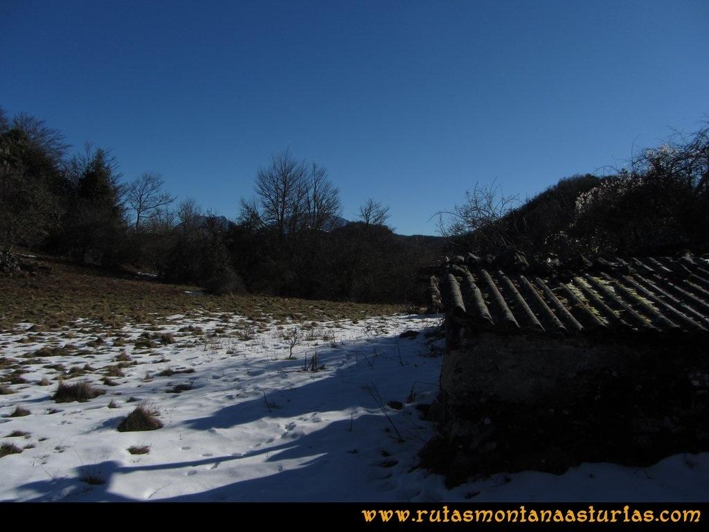Pico Mosquito desde Tarna: Collado cercano al pico Mosquito