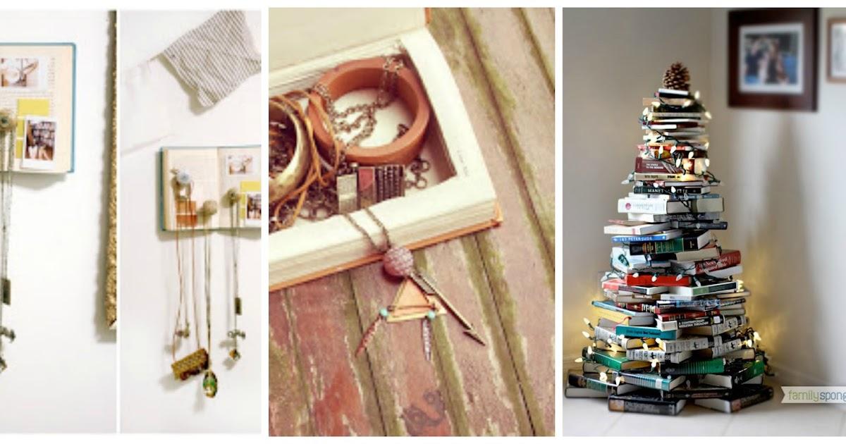 Riciclare vecchi libri per creare nuovi oggetti for Regalo oggetti vecchi