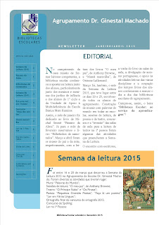 Newsletter BE janeiro-abril 2015
