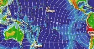 Llega oleaje de menos de dos metros a Iquique y Pisagua en el norte de Chile, 02 de Abril de 2014