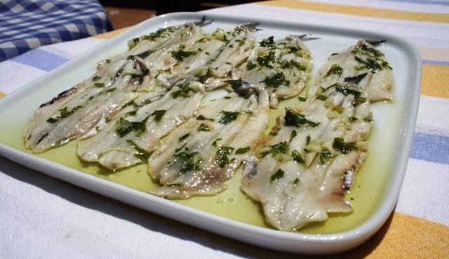 RECETA DE BOQUERONES EN VINAGRE, AL ESTILO GADITANO Alocados en la cocina