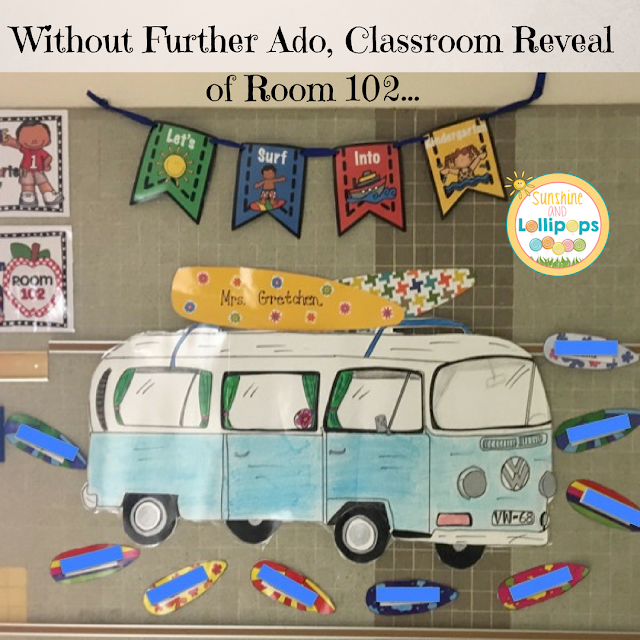 It is here...what you have all been waiting for...YES that is right...without further ado...here is the classroom reveal of Room 102...Whoo Hoo