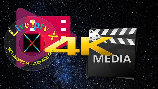 4k Media Kodi Addon