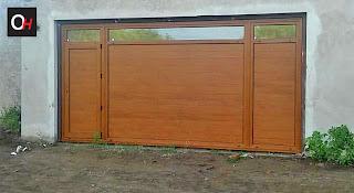 aberturas de PVC simil madera