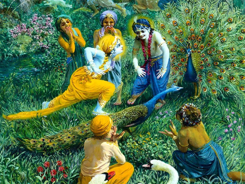 Mahabharat-Krishna-Dan-Teman-Bermain-HD-Wallpaper