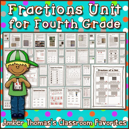 https://www.teacherspayteachers.com/Product/Fractions-Unit-for-Fourth-Grade-1590768