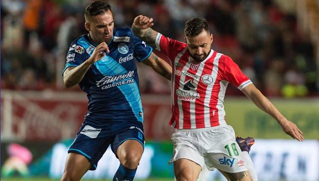 Puebla vs Necaxa en vivo