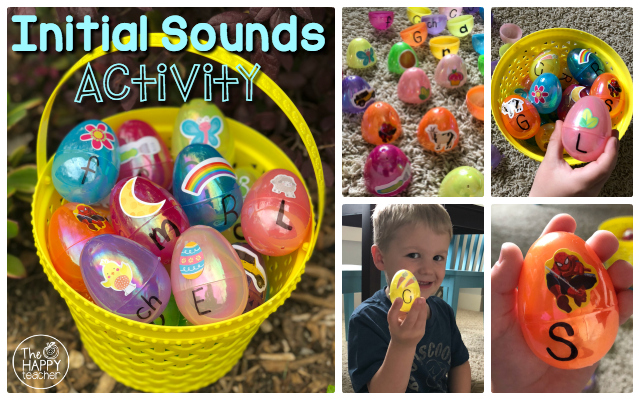 Fun Spring and Easter phonics activity for kids