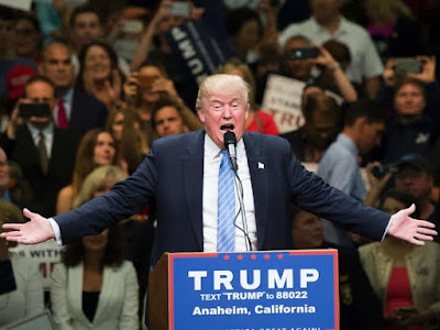 Donald Trump told Bernie Sanders' fans that he'll welcome them with open arms.